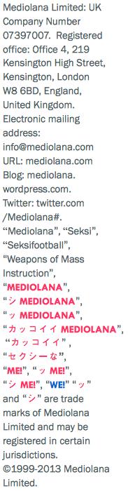 Sidebar Legal Notice Text Mediolana.Wordpress.Com 2013